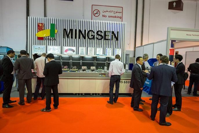迪拜国际智能卡、支付、识别展览会_现场照片