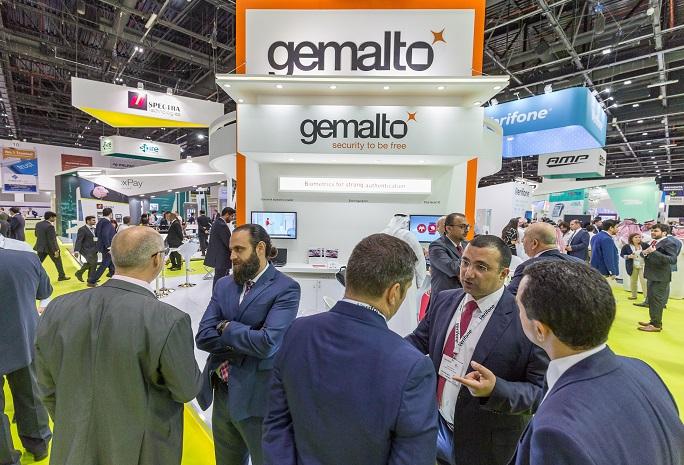 中东迪拜国际智能卡、支付、识别展览会_现场照片