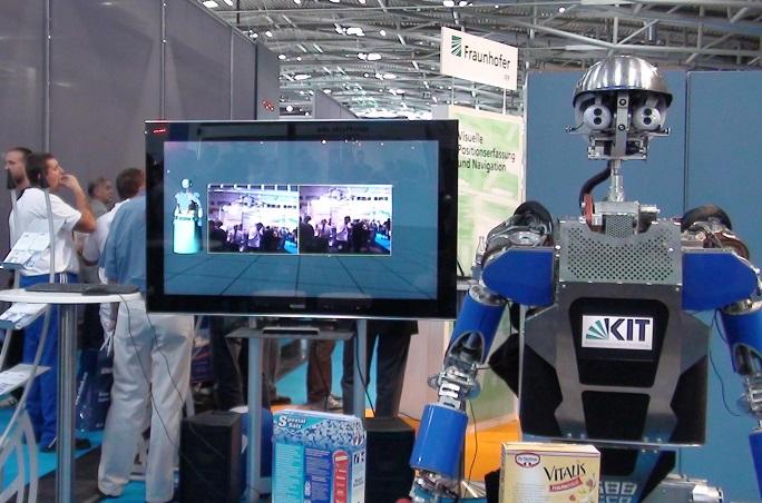 德国慕尼黑国际机器人及自动化技术展览会_现场照片