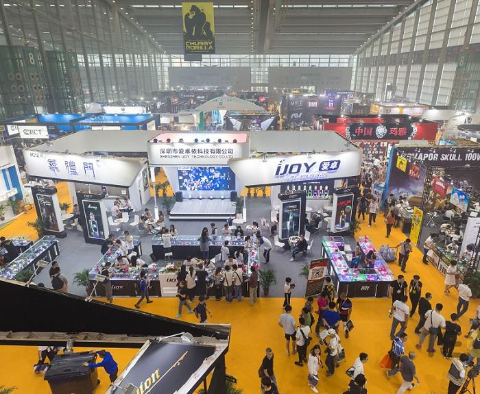 中国(深圳)国际电子烟产业展览会_现场照片
