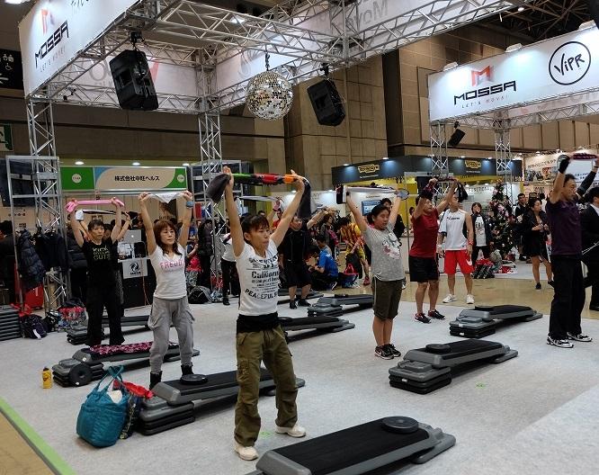 日本东京国际体育用品及户外展览会_现场照片