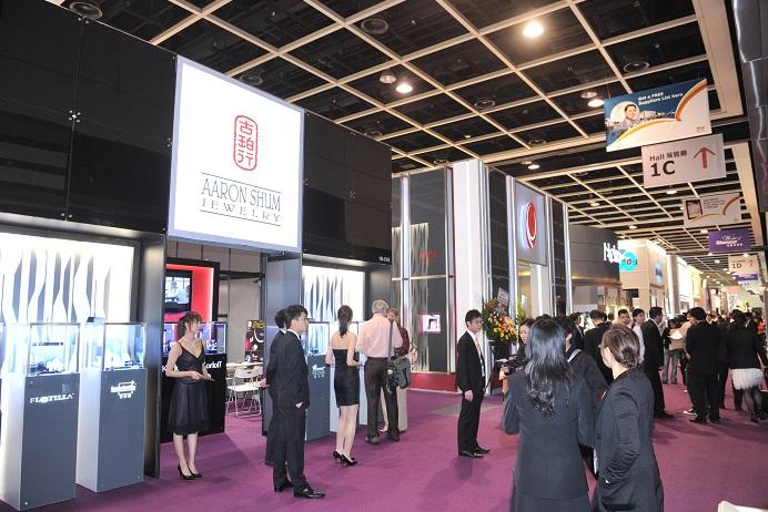 香港贸发局国际珠宝展览会_现场照片