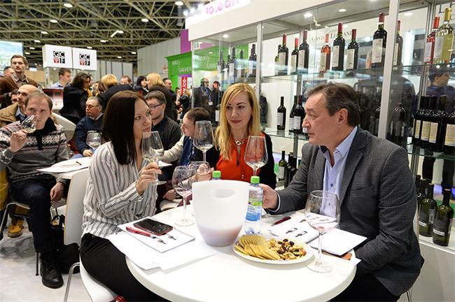 俄罗斯莫斯科国际食品饮料展览会_现场照片