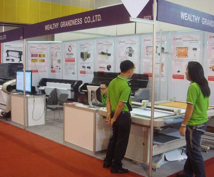泰国曼谷国际纺织品机械设备展览会_现场照片