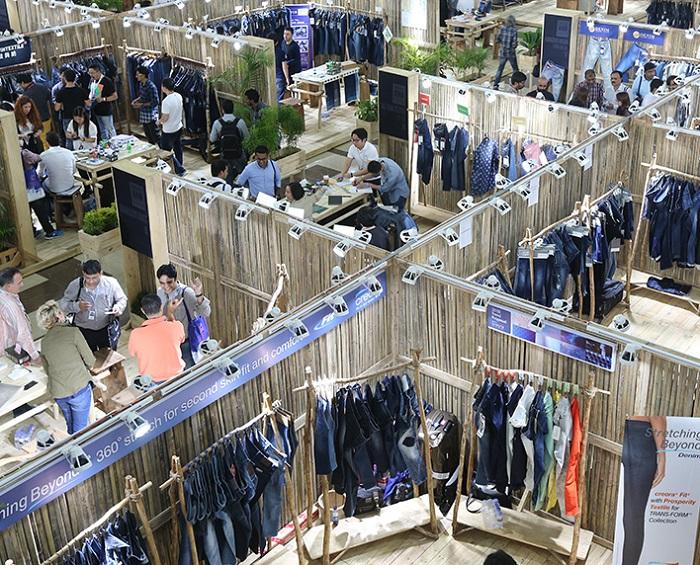 孟加拉达卡国际牛仔服装及纺织展览会_现场照片