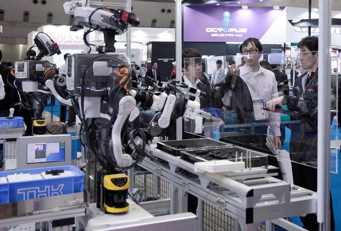 日本东京国际智能机器人展览会_现场照片