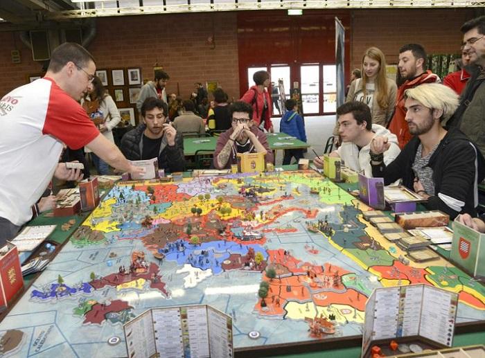 意大利摩德纳国际游戏展览会_现场照片