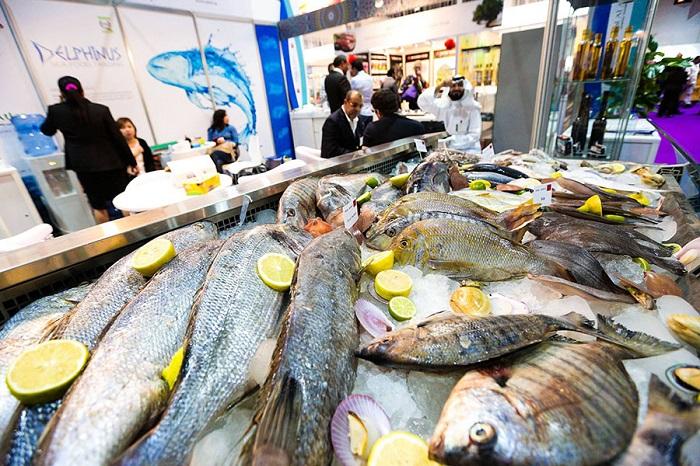 中东迪拜国际水产贸易及加工技术展览会_现场照片