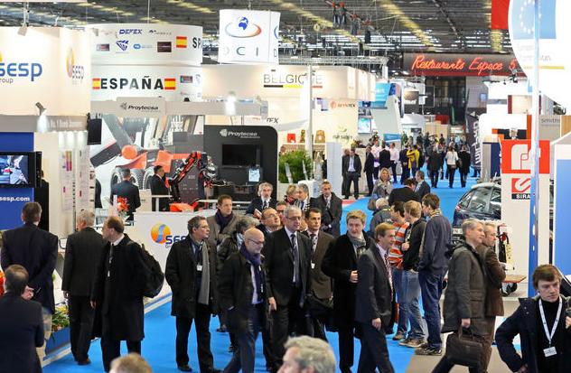 法国巴黎国际军警设备展览会