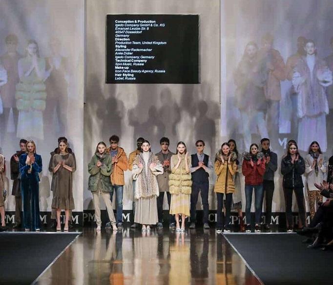 俄罗斯莫斯科国际秋季成衣时尚展览会_现场照片