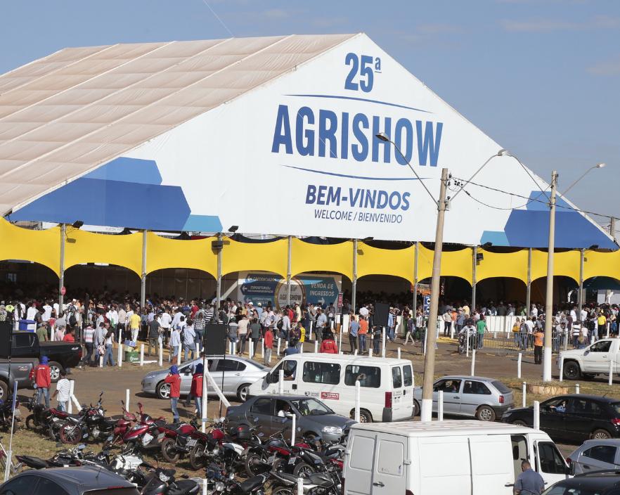 巴西里贝朗普雷图国际农机展览会