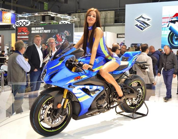 意大利米兰国际两轮车展览会_现场照片
