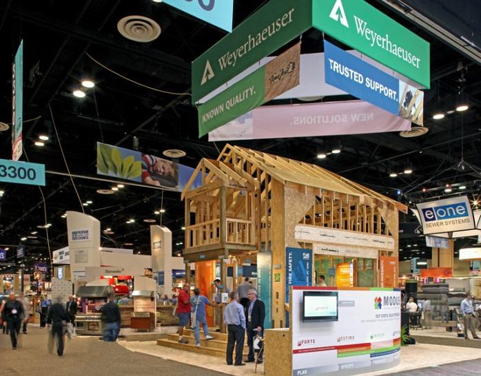 美国拉斯维加斯国际建筑建材展览会_现场照片