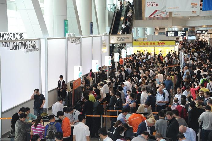 香港国际秋季灯饰展览会_现场照片