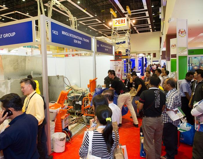 马来西亚吉隆坡国际建材与建筑工程技术展览会_现场照片