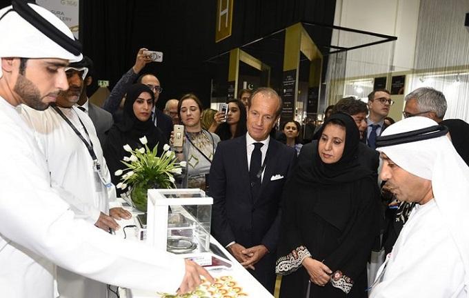 中东迪拜国际珠宝展览会_现场照片