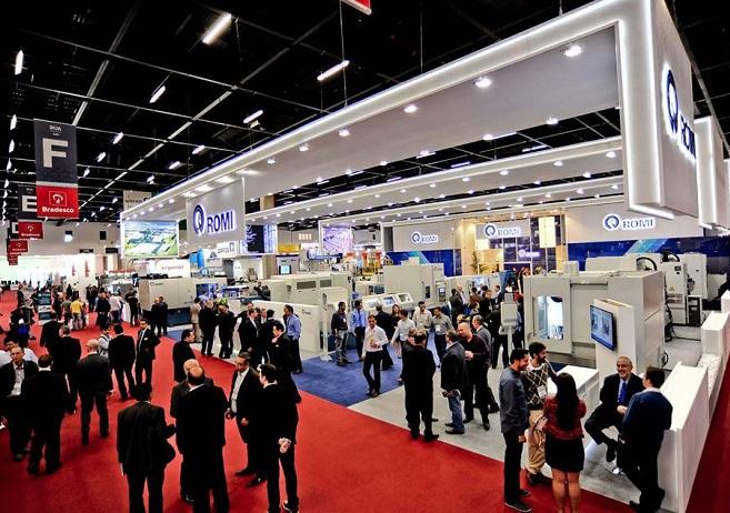 巴西圣保罗国际机械设备及机床展览会_现场照片
