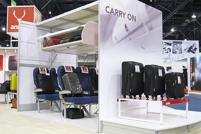美国国际旅行用品及箱包展览会_现场照片