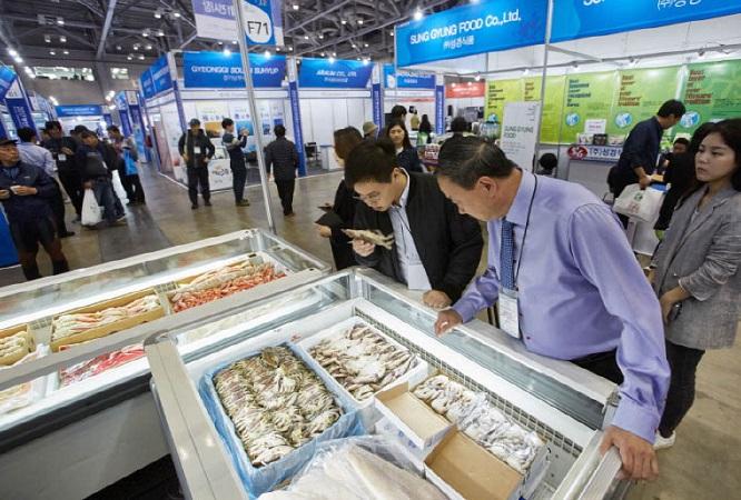 韩国釜山国际水产海鲜贸易展览会_现场照片