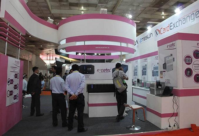 印度新德里国际智能卡技术与支付展览会_现场照片