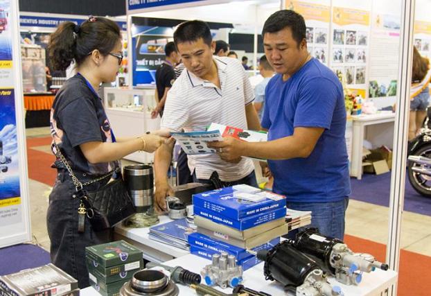 越南胡志明国际汽摩配件及电子用品展览会