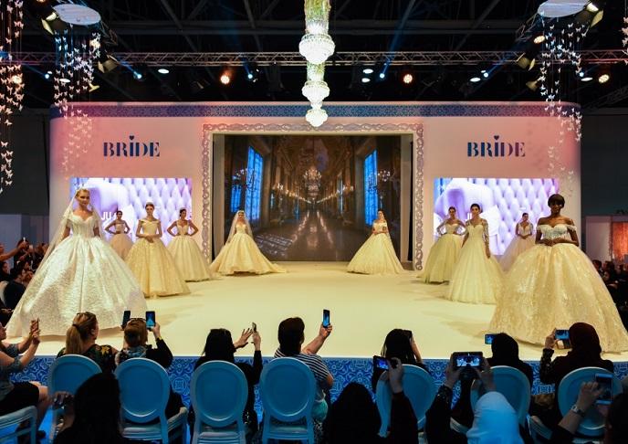 中东迪拜国际婚纱礼服展览会_现场照片