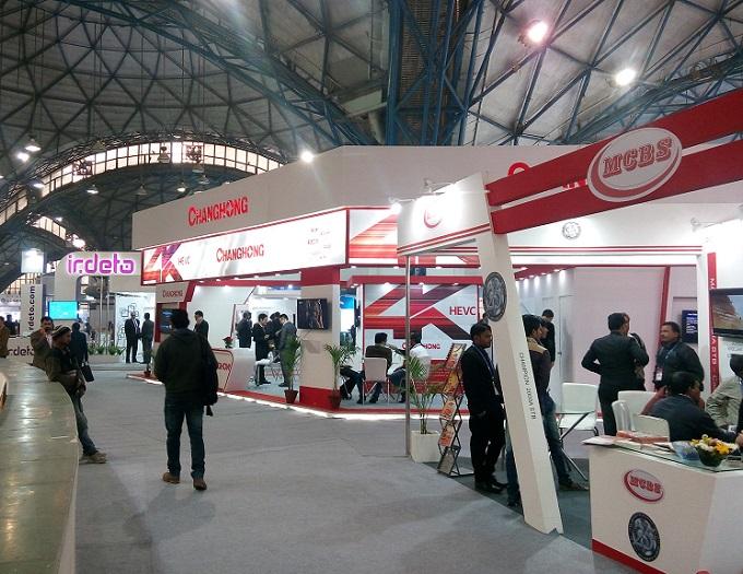 印度新德里国际通讯博览会_现场照片