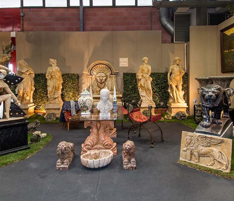 意大利摩德纳国际古园林园艺展览会_现场照片