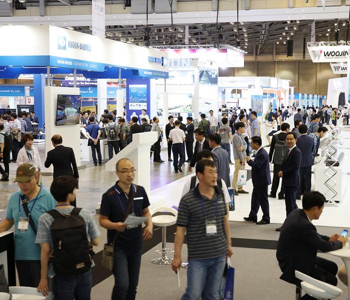 韩国国际铁路及交通运输展览会_现场照片