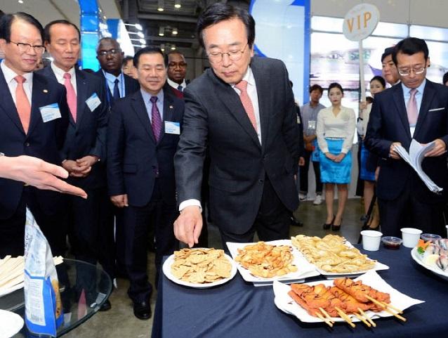 韩国釜山国际水产海鲜贸易展览会