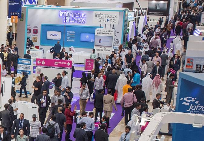 中东迪拜国际通讯及消费性电子展览会_现场照片