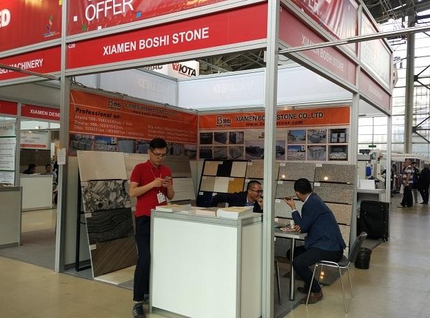 俄罗斯莫斯科国际石材展览会_现场照片
