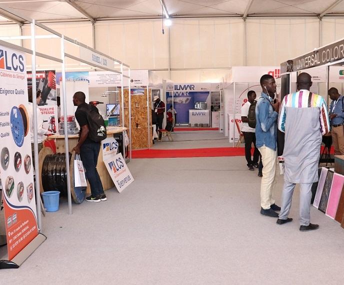 塞内加尔达喀尔国际建筑建材展览会_现场照片