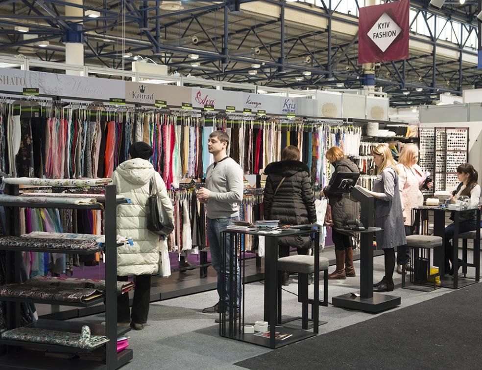 乌克兰国际秋季纺织、皮革及内衣展览会_现场照片