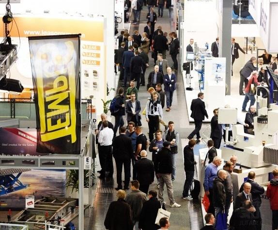 德国汉诺威国际金属板材加工技术展览会_现场照片