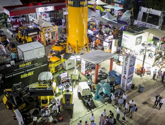 哥伦比亚麦德林国际建材、工程机械及建筑设计展览会_现场照片