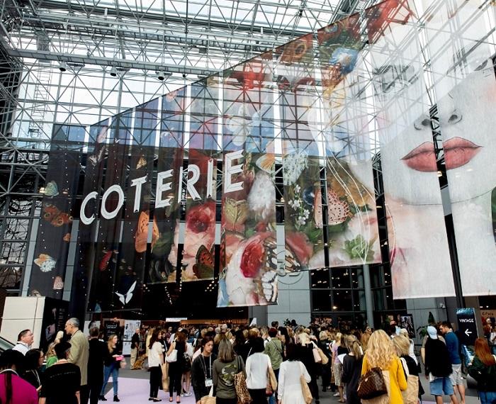 美国纽约国际服装配饰及箱包展览会_现场照片