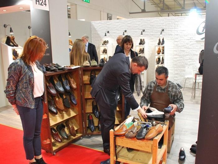 意大利米兰国际春季鞋类展览会_现场照片