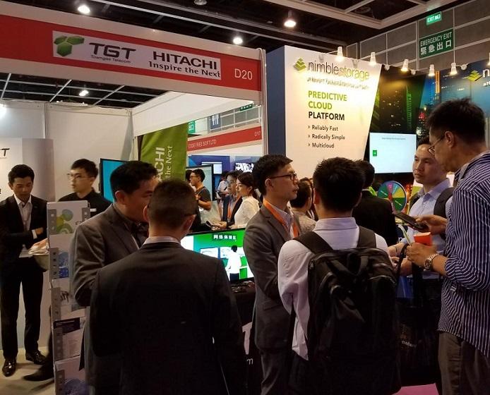 香港国际数据中心技术及设备展览会_现场照片