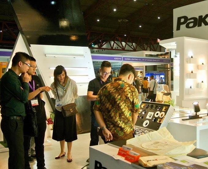 印尼雅加达国际线材线缆展览会_现场照片