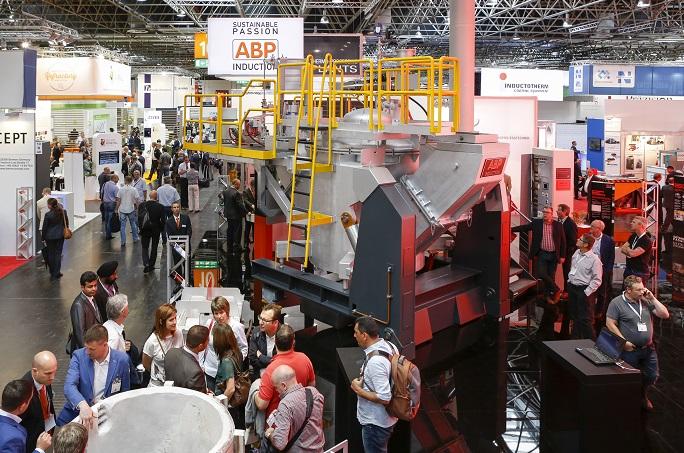 德国杜塞尔多夫国际金属铸造加工展览会_现场照片