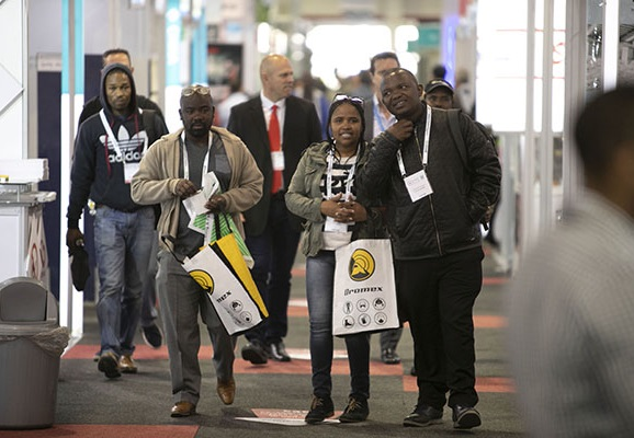 南非约翰内斯堡国际管道工程展览会_现场照片