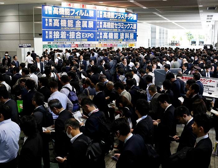 日本大阪国际高机能塑料制造技术展览会_现场照片