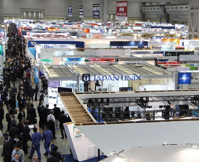 日本东京国际电子元器件及制造设备展览会_现场照片