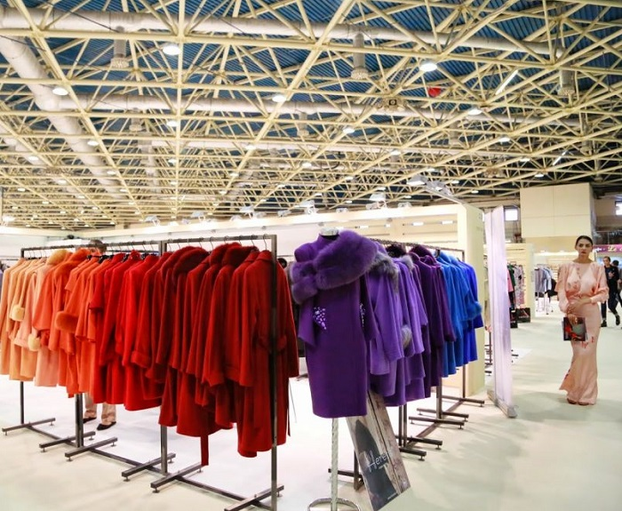 俄罗斯莫斯科国际春季成衣时尚展览会_现场照片
