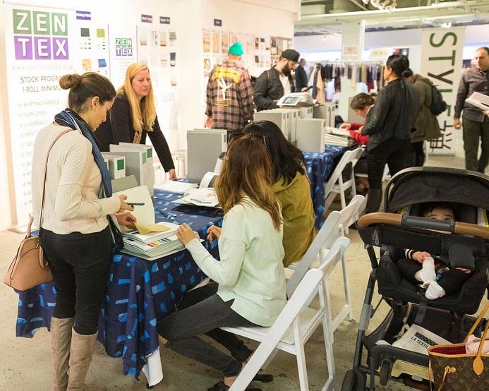 美国洛杉矶国际秋季纺织展览会_现场照片