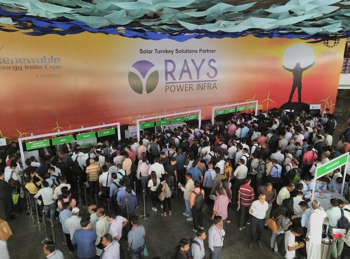 印度新德里国际可再生能源展览会_现场照片