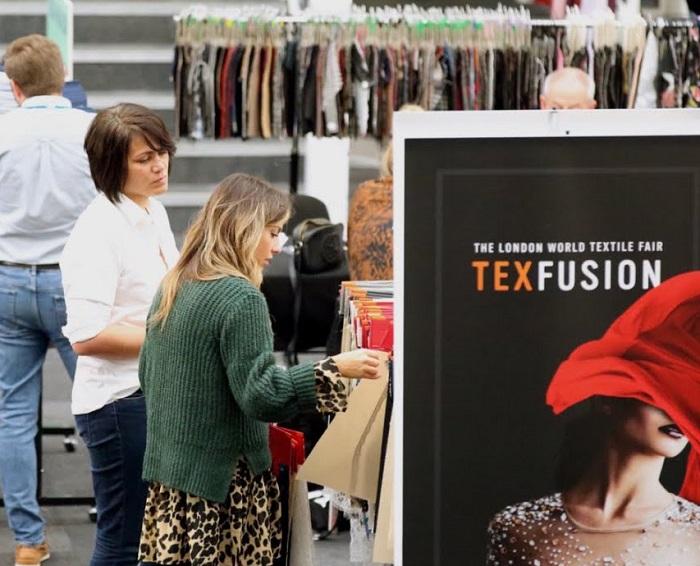 英国伦敦国际秋季服装及面辅料采购展览会_现场照片
