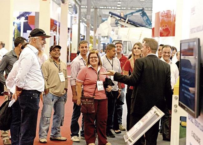 巴西圣保罗国际工程机械及矿山机械展览会_现场照片